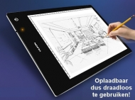 Huion LED oplaadbare A4